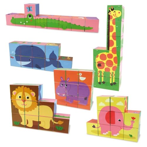 Cubes des Animaux Vilac