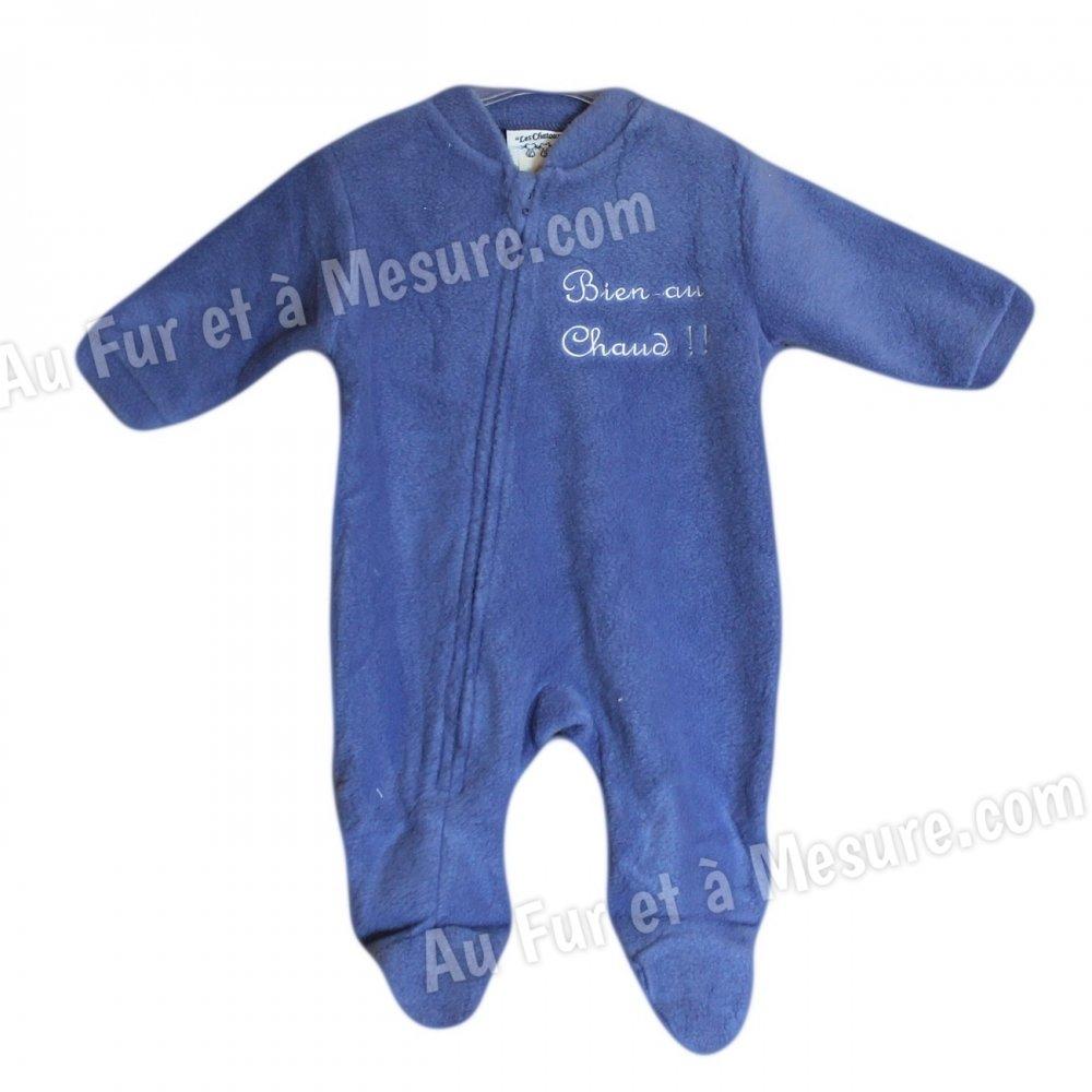 b33a18f1dad11 Surpyjama bébé polaire Les Chatounets  Surpyjama polaire Bleu clair  turquoise Les Chatounets  Surpyjama polaire Bleu Roi Les Chatounets ...