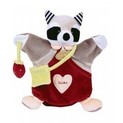 Doudou Marionnette Isidro le Raton-Laveur Doudou et Compagnie