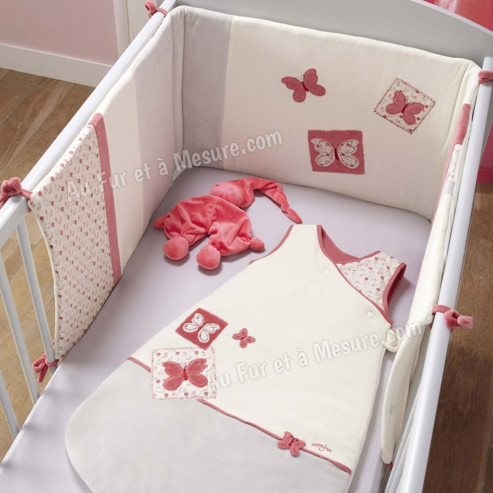 Tour de lit butterfly domiva for Collection chambre bebe garcon
