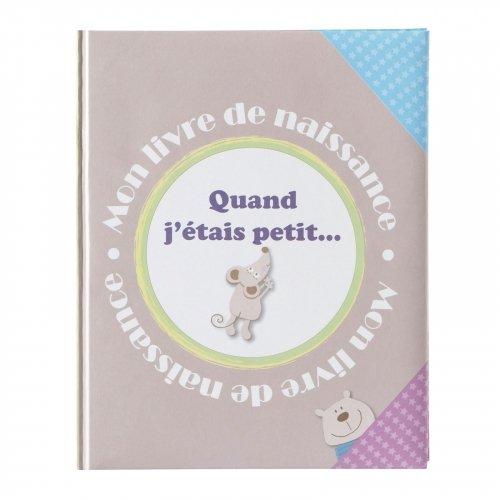 Livre de naissance Petite Souris Quand j'étais petit Domiva