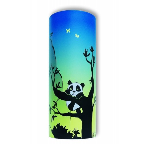 lampe de chevet panda bleu vert piculus. Black Bedroom Furniture Sets. Home Design Ideas