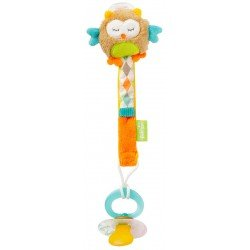 Attache-sucette Hibou Sleeping Forest Babysun