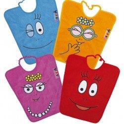Bavoir et serviette de table enfant