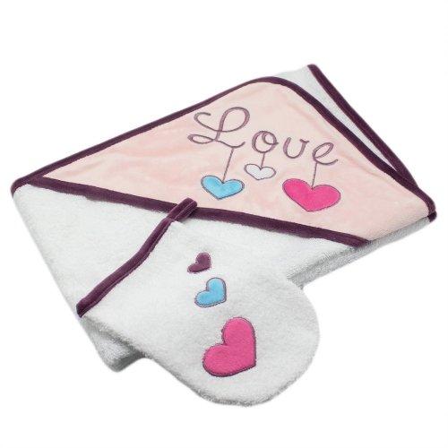 Sortie de bain Love Les Chatounets