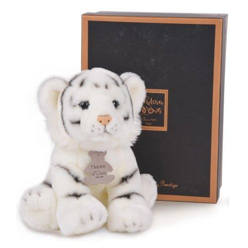 Peluche Tigre Blanc Authentiques Histoire d'Ours