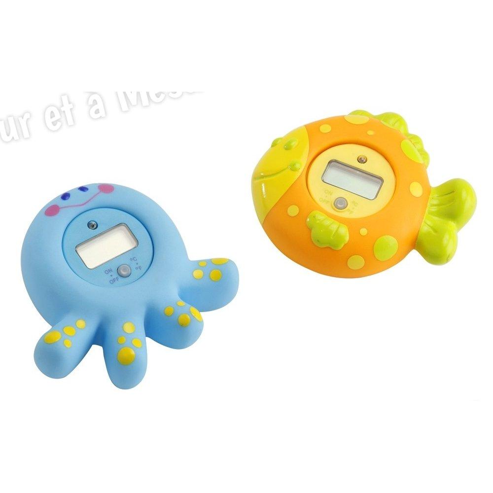 Thermom tre digital de bain poisson babysun for Thermometre de chambre bebe