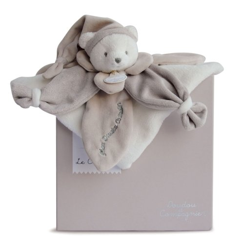 Doudou plat Ours Taupe Collector Doudou et Compagnie