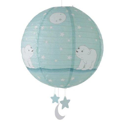 lanterne type boule japonaise flocon l 39 ourson domiva. Black Bedroom Furniture Sets. Home Design Ideas