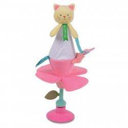 Marionnette marotte Chat Doudou et Compagnie