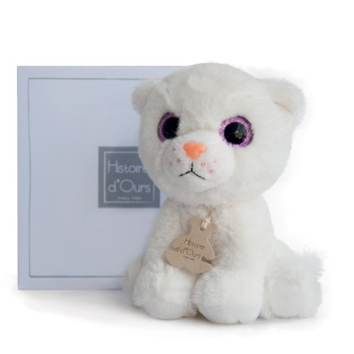 Peluche Chat Peps Prairie Histoire d'Ours
