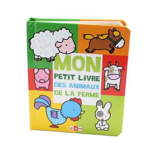 Livre imagier les animaux de la ferme editions pym - Imagier animaux de la ferme ...