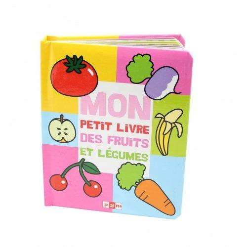 Livre imagier Les Fruits et Légumes Editions PYM