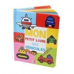 Livre imagier Les Véhicules Editions PYM