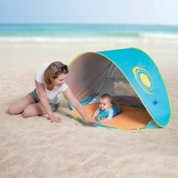 Tente anti-UV & Piscine de plage Ludi