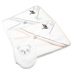 Sortie de bain Panda Les Chatounets