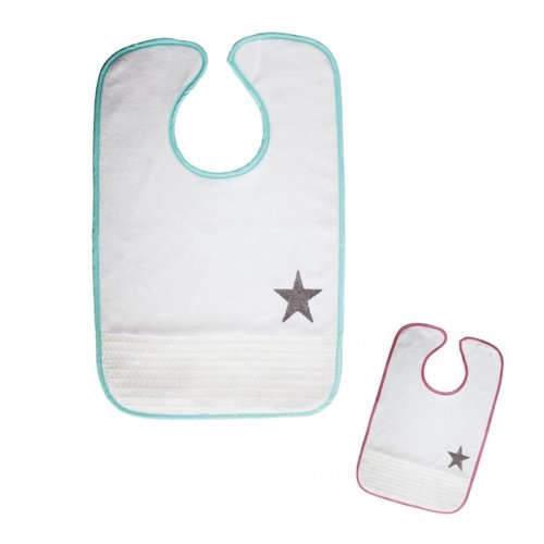 Serviette de table brodé Etoile Babycalin