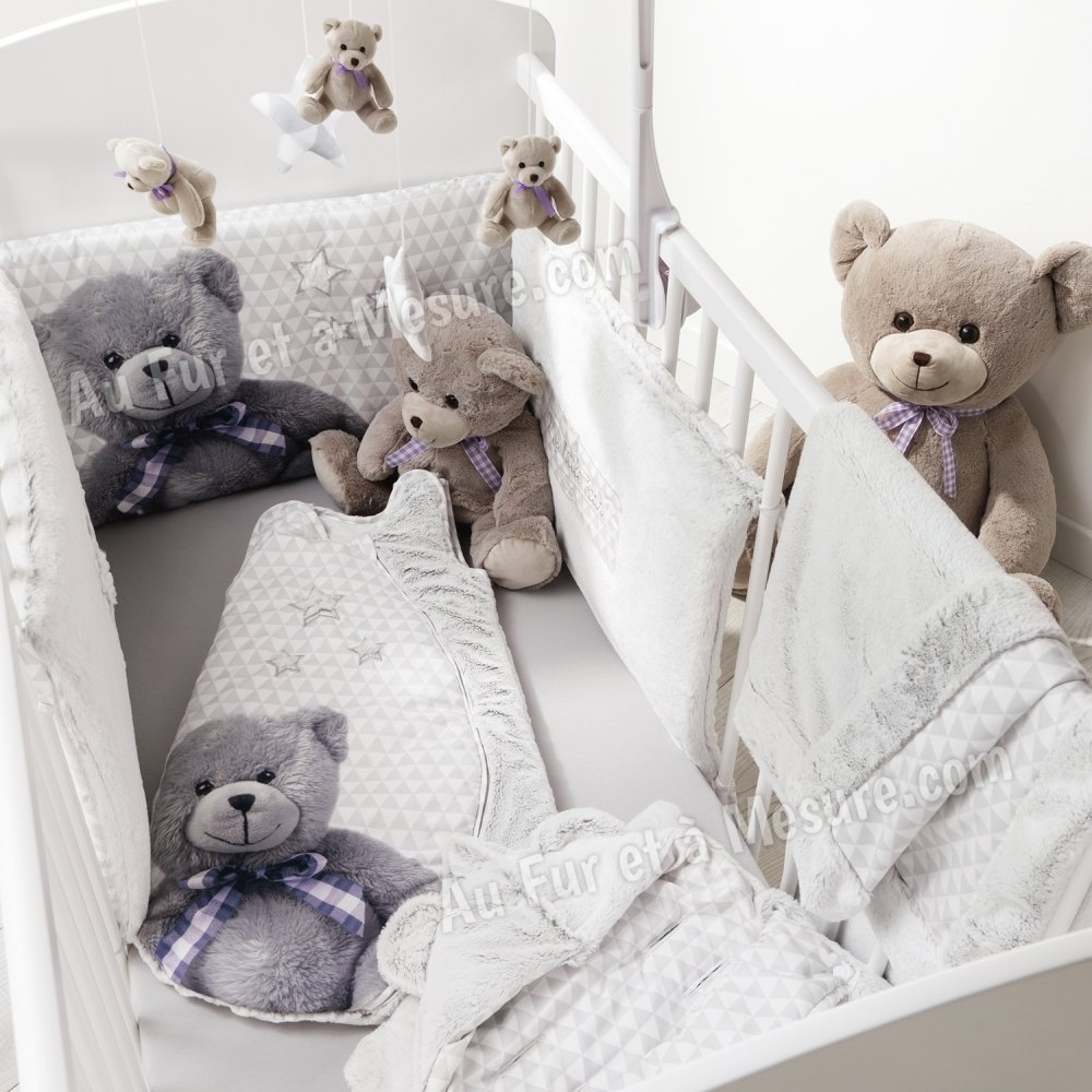 nid d 39 ange mixte ourson little bear domiva. Black Bedroom Furniture Sets. Home Design Ideas