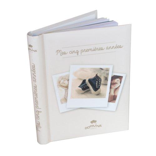 """Livre de naissance """"Mes 5 premières années"""" Domiva"""