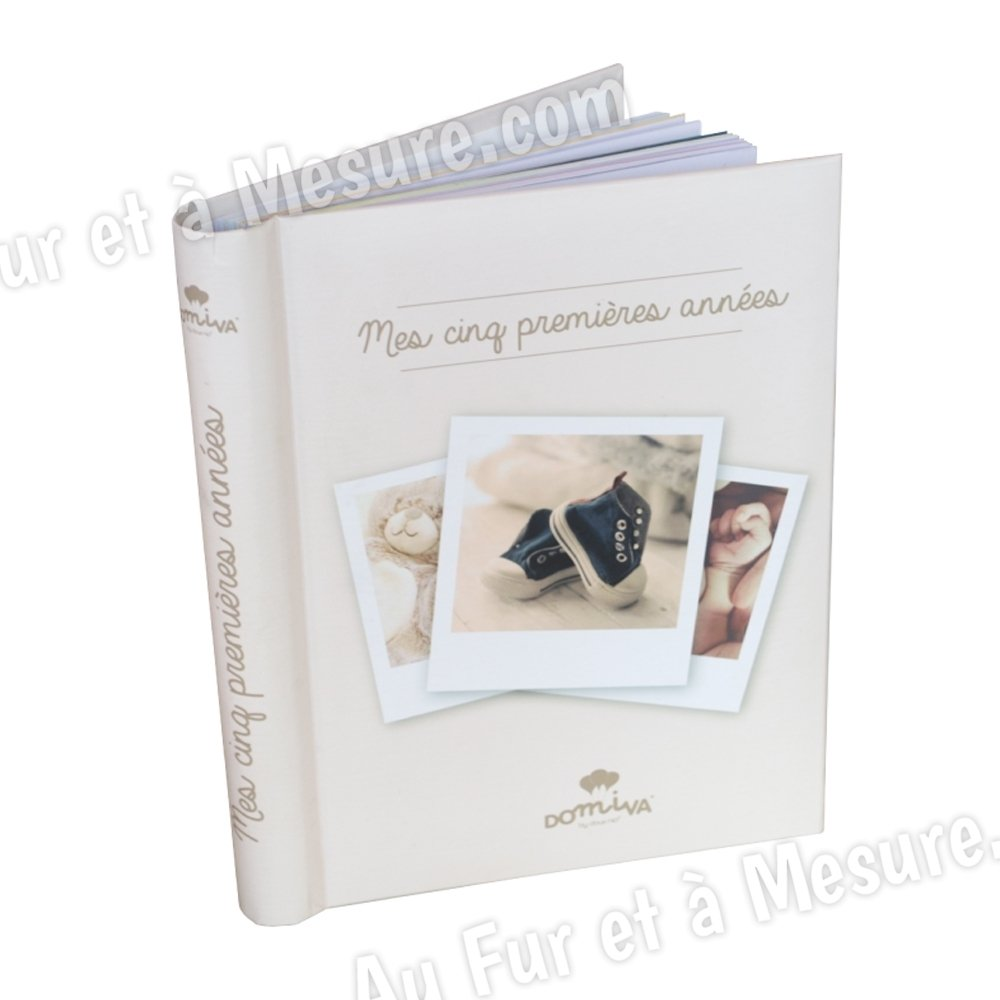 livre de naissance mes 5 premi res ann es domiva. Black Bedroom Furniture Sets. Home Design Ideas