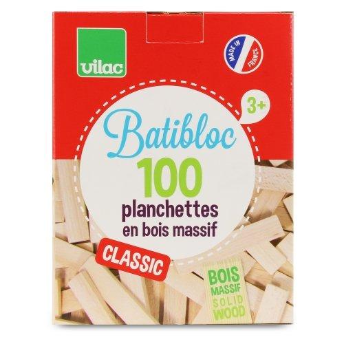 Batibloc classic 100 planchettes bois