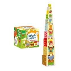 10 Cubes Gigognes Mélusine Vilac