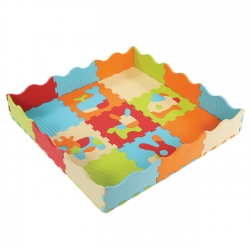 Tapis en mousse Animaux Dalles Touch Ludi