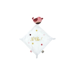 Doudou attache sucette Bird Chatounets
