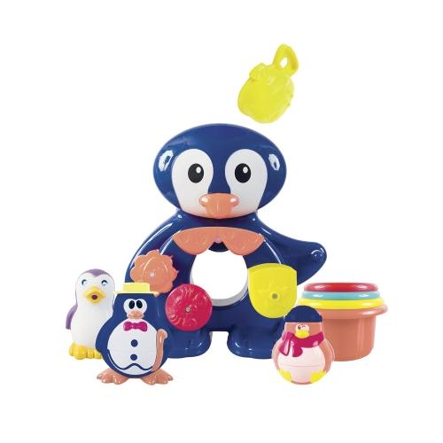 Pingouin Fontaine de bain et ses amis