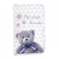 Protège carnet de santé Ourson My Little Bear Domiva