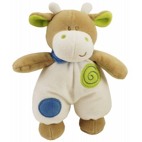 Peluche Pistache la Vache 20 cm Les Bébés d'Elyséa