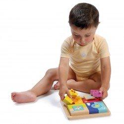 Puzzle multi-activités 4 saisons Boikido