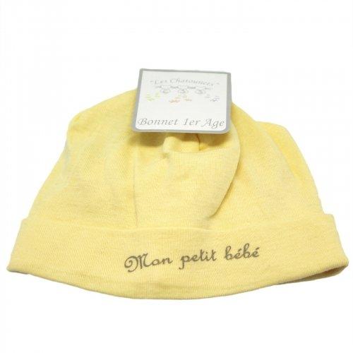 Bonnet de Naissance Mon Petit Bébé Les Chatounets