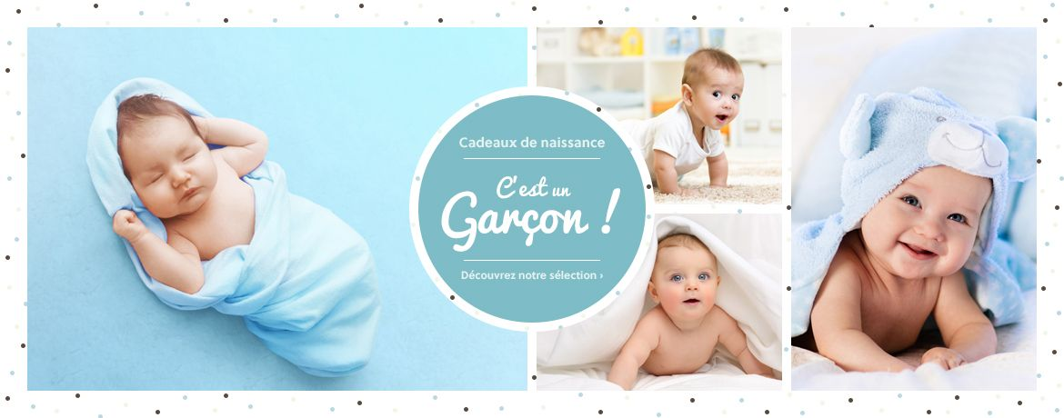 Cadeau naissance garçon