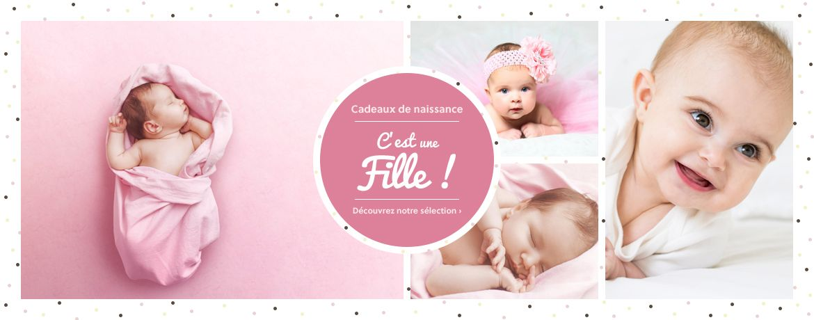 Cadeau naissance fille